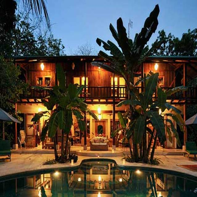 La casona luxury villa malpais surfing for Costa rica house rental with chef